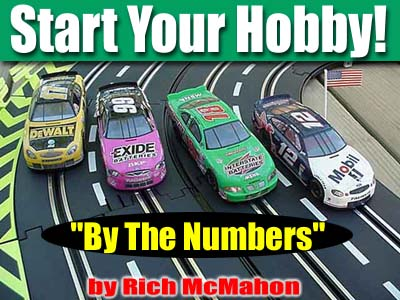Getting Started in 1/32nd Scale Slot Cars - By the Numbers