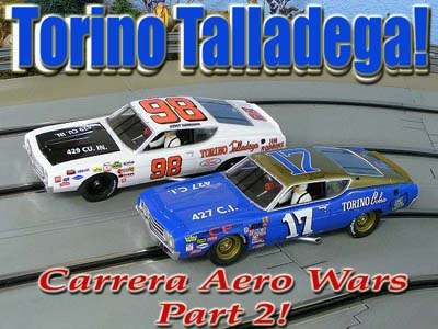 This Release Of The Torino Talladega Is Quite Possibly The Most Important Release Of This Slot Car Season For Me Not Only Is It A Brand New Model Aimed